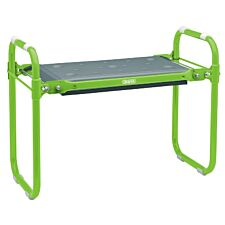 Draper Folding Metal Framed Gardening Seat and Kneeler
