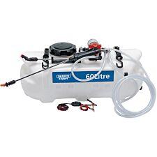Draper 12V DC ATV Spot/ Broadcast Sprayer - 60L