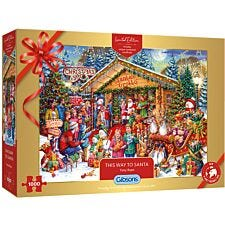 Gibsons Christmas Grotto Puzzle - Limited Edition