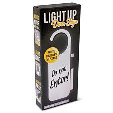 Light Up Door Sign