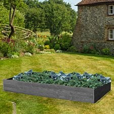 NBB Recycled Furniture EverYear Raised Bed L1200 x D640 x H300mm - Grey