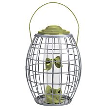 Chapelwood Ultra Squirrel Proof Bird Feeder with Hanger - Green
