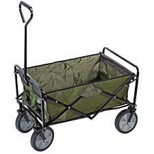 Draper Folding Cart - Black/Green
