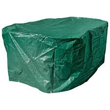 Draper Oval Patio Set Cover (2300 X 1650 X 900mm) - Green