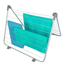 OurHouse Over Bath Airer - Grey