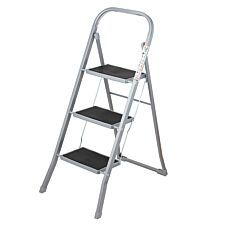 OurHouse 3-Step Ladder - Steel