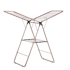 Tower 2-Tier Winged Airer - Rose Gold
