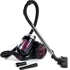 Kleeneze KL0700 Compact Cylinder Vacuum Cleaner - Black/Plum