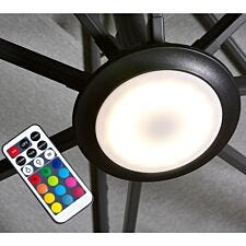 Pacific Lifestyle Multi Coloured LED Parasol Light