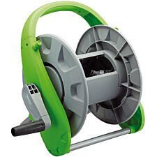 Draper Premium Garden Hose Reel - Grey and Green