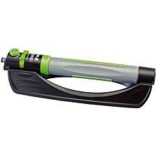 Draper 3-in-1 Oscillating Sprinkler - Black, Grey, and Green