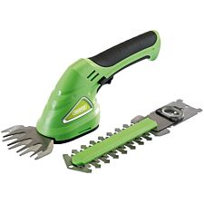 Draper Cordless Grass and Hedge Shear Kit - Green, Black, and Silver