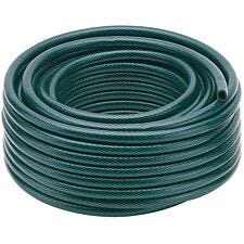 Draper 12mm Bore Green Watering Hose - 15m