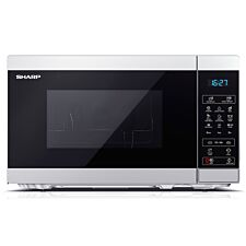 Sharp YC-MG02U-S 20L 800W Digital Touch Control Microwave with 1000W Grill - Silver