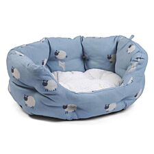 Zoon Counting Sheep Oval Dog Bed - Extra Large