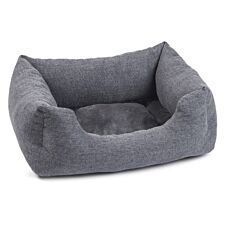 Zoon Harrogate Tweed Square Dog Bed - Small