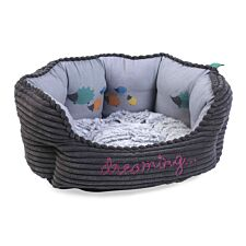 Zoon Hoglets Dreaming Oval Dog Bed - Small
