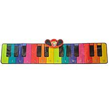 Rainbow Colours Giant Slimline 6ft Piano Mat