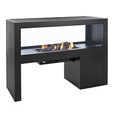 Pacific Lifestyle Cosivista 120 Outdoor Fireplace - Black