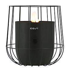 Pacific Lifestyle Cosiscoop Basket Fire Lantern - Black