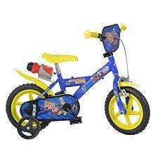 """Fireman Sam 12"""" Kids Bicycle"""