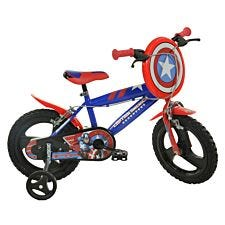 "Captain America 14"" Kids Bicycle"