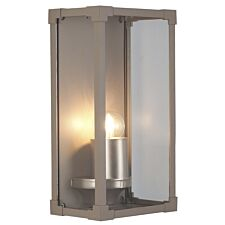 Pacific Lifestyle Metal Box Lantern Wall Light - Taupe