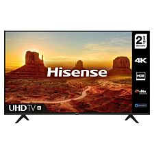 "Hisense 43A7100FTUK 43"" 4K UHD HDR Smart TV with Freeview Play"