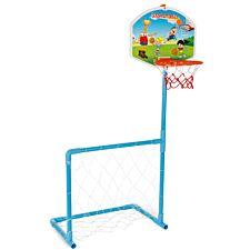 Pilsan Magic Basketball Hoop and Football Goal Set