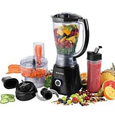 Salter EK4246 Deluxe 1.5L 400W Blender Set – Black
