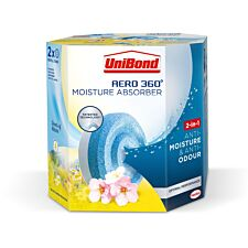 UniBond Aero 360 Flower Meadow Refills - 2 Pack