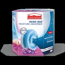 UniBond Aero 360 Lavender Refills - 2 Pack