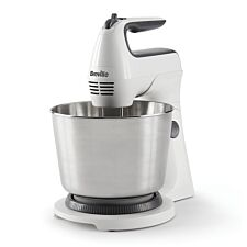 Breville VFM031 Hand and Stand Mixer - White