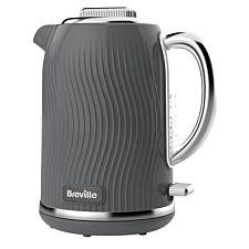 Breville VKT092 Flow Collection 3KW Fast Boil 1.7L Jug Kettle – Grey