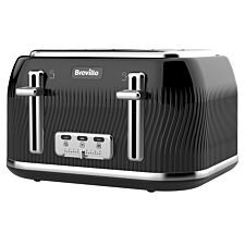 Breville Flow Collection 4-Slice Toaster - Black