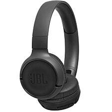 JBL TUNE 500BT Wireless Bluetooth On-ear Foldable Headphones with Earcup Controls - Black