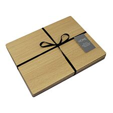 Wood Veneer Placemats - Set of 4