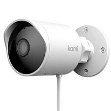 Yi Technology Kami Outdoor Wired 1080p Security Smart Camera - White