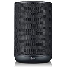 LG WK7 XBOOM AI ThinQ Smart Speaker with Built-in Google Assistant & Meridian Technology - Black