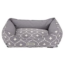 Scruffs Casablanca Box Bed Grey (M)