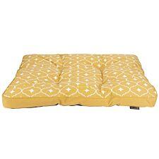 Scruffs Casablanca Large Dog Mattress - Mustard Yellow