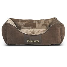 Scruffs Chester Box Dog Bed - Chocolate Brown