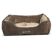 Scruffs Chester Box Bed Chocolate (L)