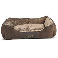 Scruffs Chester Box Bed Chocolate (XL)