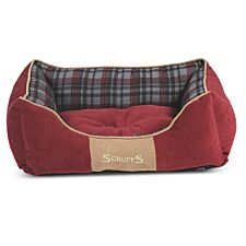 Scruffs Highland Box Bed Red (S)