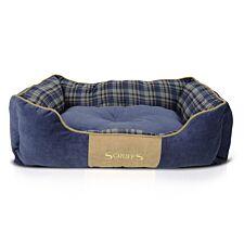 Scruffs Highland Box Bed Blue (M)