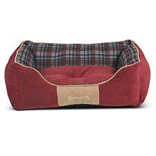 Scruffs Highland Box Bed Red (M)