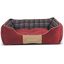 Scruffs Highland Box Bed Red (L)