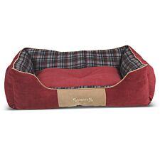 Scruffs Highland Box Bed Red (XL)