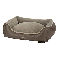 Scruffs Chateau Memory Foam Orthopaedic Box Bed Latte (M)
